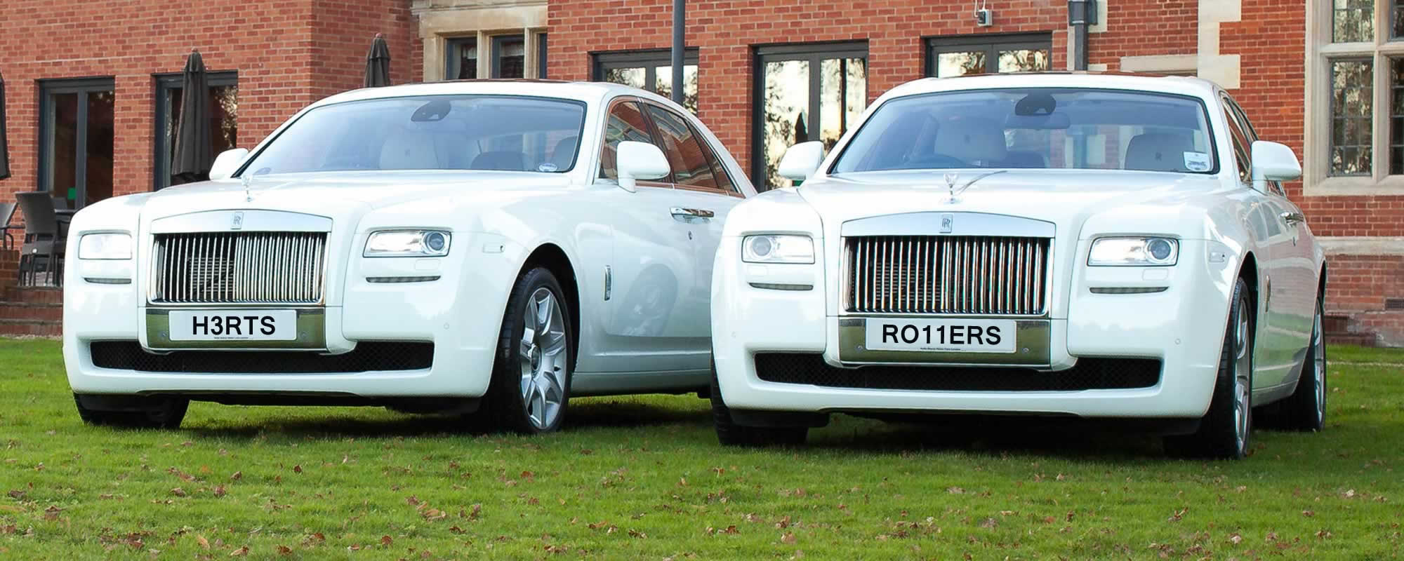 rolls royce ghost white | herts rollers
